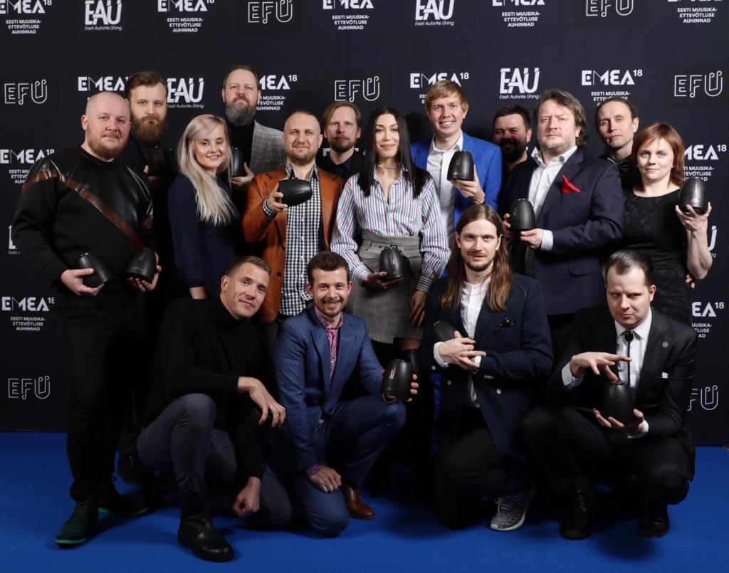 Selgusid Eesti Muusikaettevõtluse Auhinnad 2018 võitjad