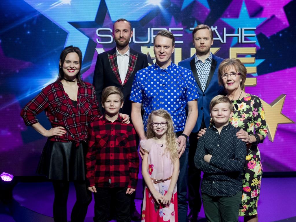 """VIDEO! """"Suure tähe väike täht"""" tänases saates on külas Reet Linna, Evelyn Mikomägi ja Rauno Märks"""