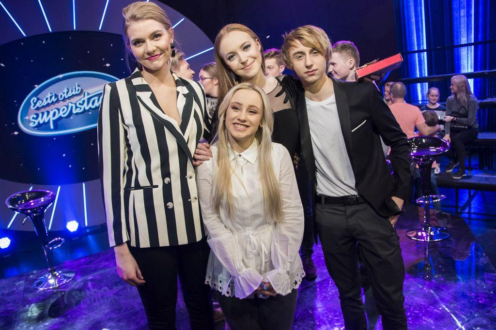 FOTOD JA VIDEOD! Superstaari lohutusvoorust pääsesid edasi Rauno Gutman, Anette Maria Rennit, Merilin Mälk ja Hele-Mai Mängel