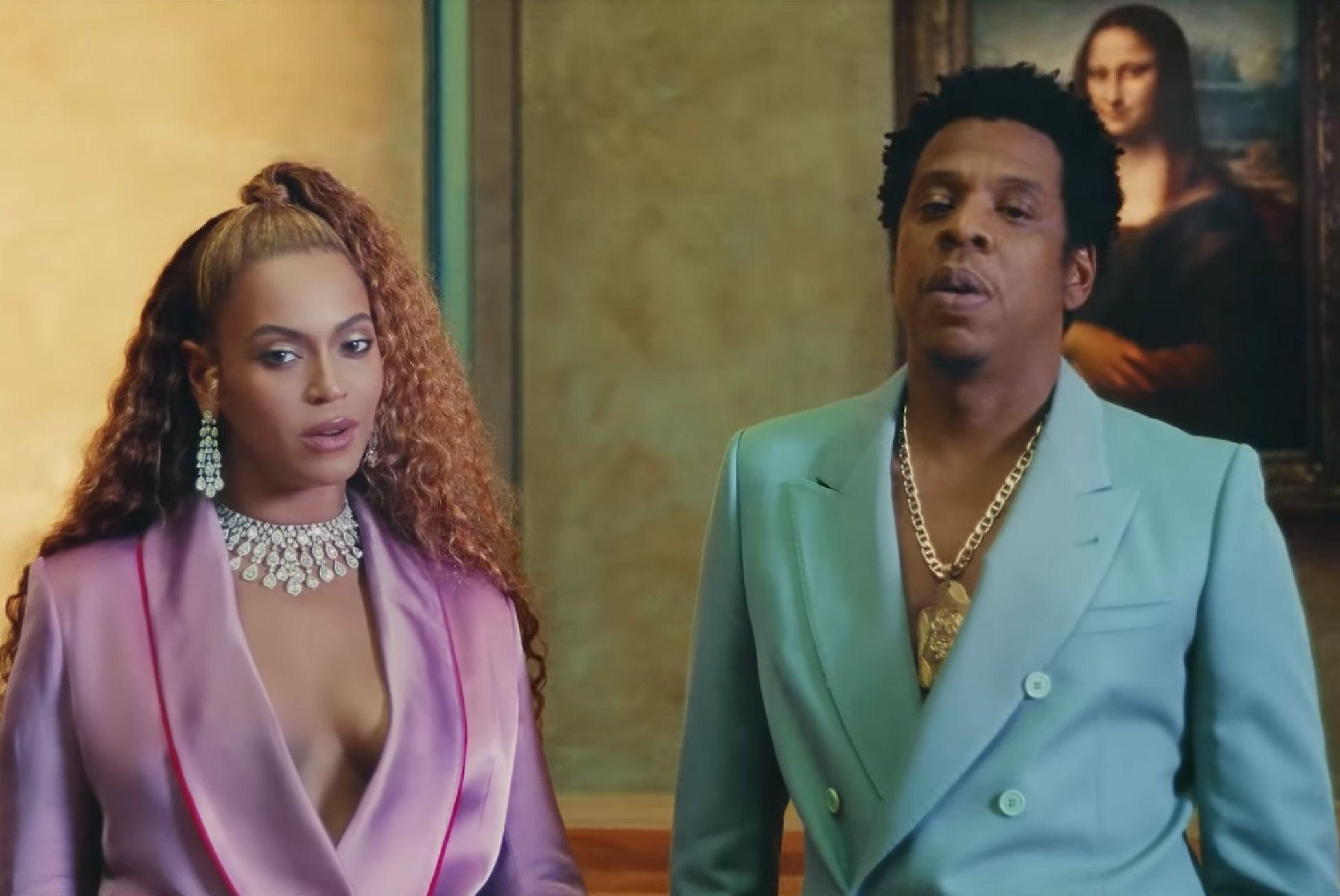 "VIDEO! Beyoncé ja Jay-Z möllavad ""Apeshiti"" videos Louvre'is"