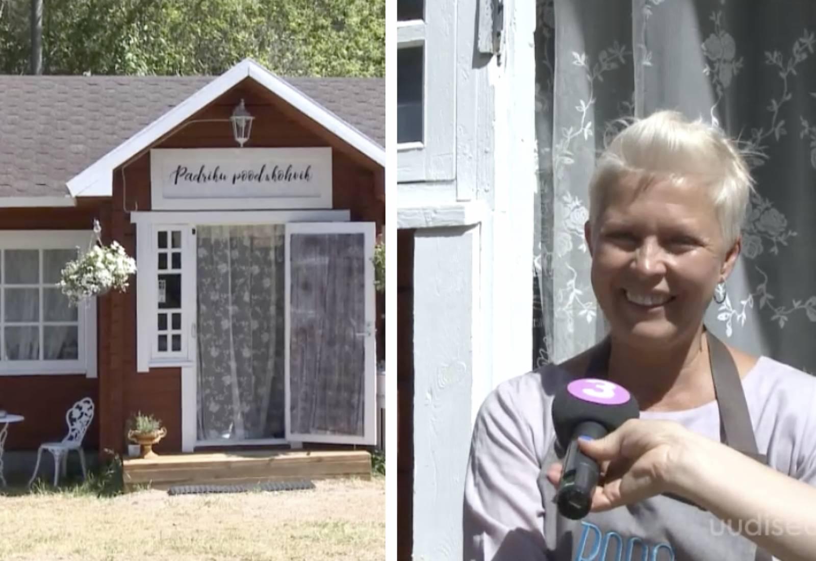 VIDEO! Evelin Ilves ja Siim Rikker avasid Kassaris muinasjutulise pood-kohviku