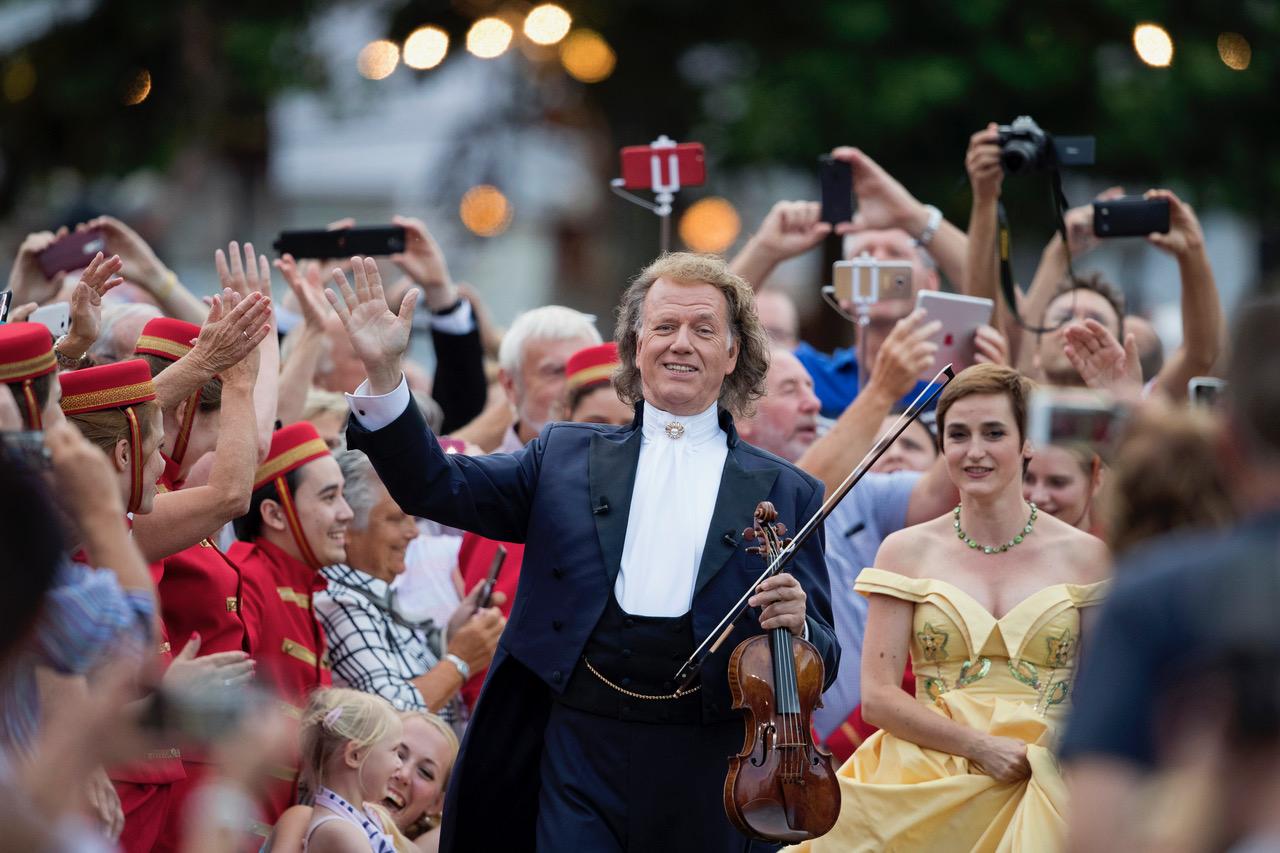 Nädalavahetusel toimub valsikuninga André Rieu legendaarne suvekontsert