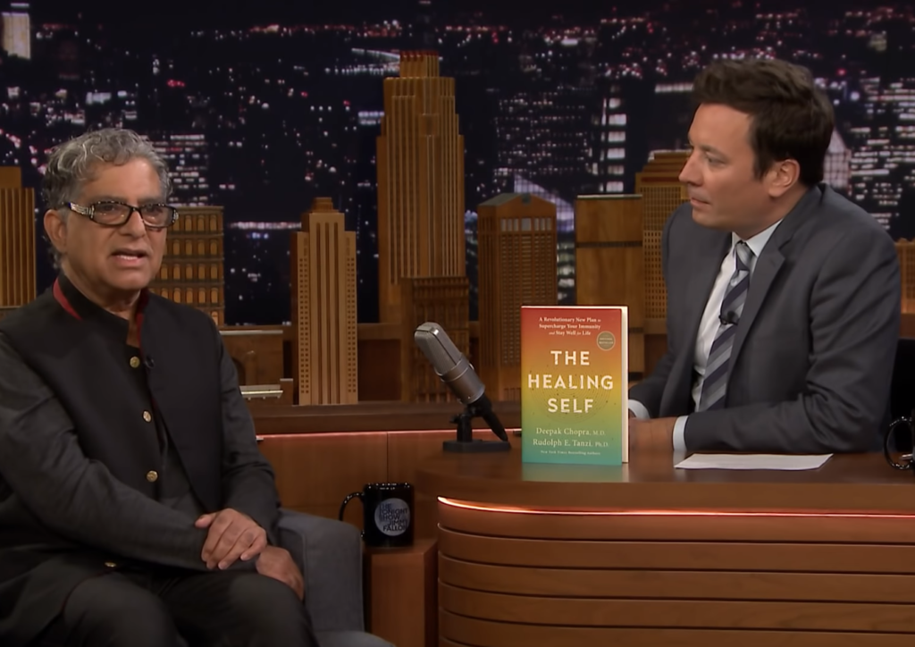 VIDEO! Deepak Chopra õpetas Jimmy Fallonit mediteerima