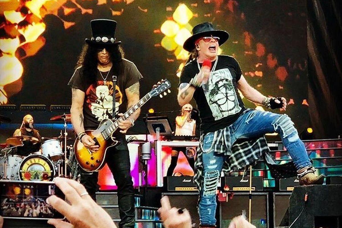 Guns N' Roses püstitas rekordi