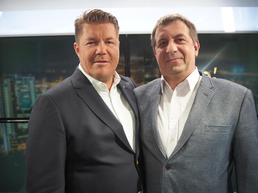 Hannes Võrno ja Vladas Radvilavičius