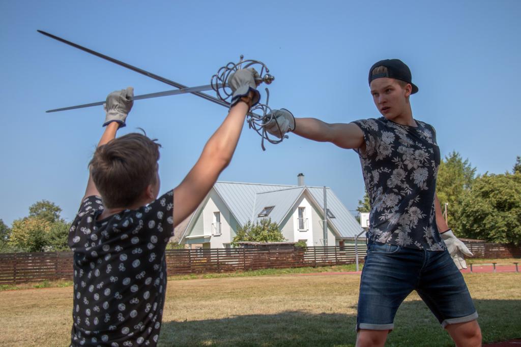 Jaagup Tuisk võitlemas (Foto Andres Muuga)