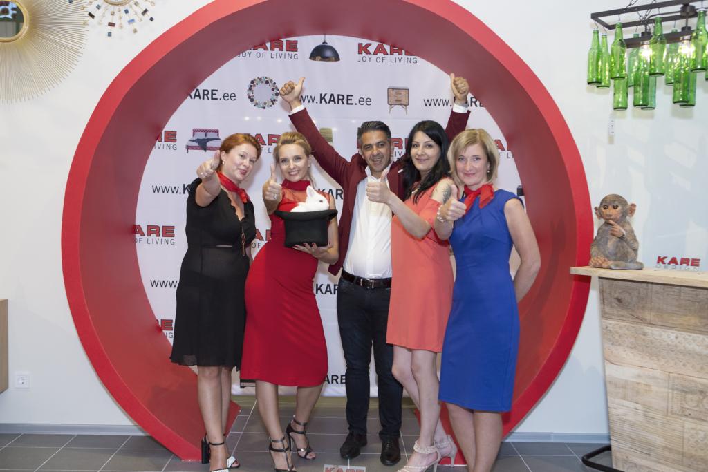 FOTOD! Tallinnas avati KARE Design Eesti esindussalong