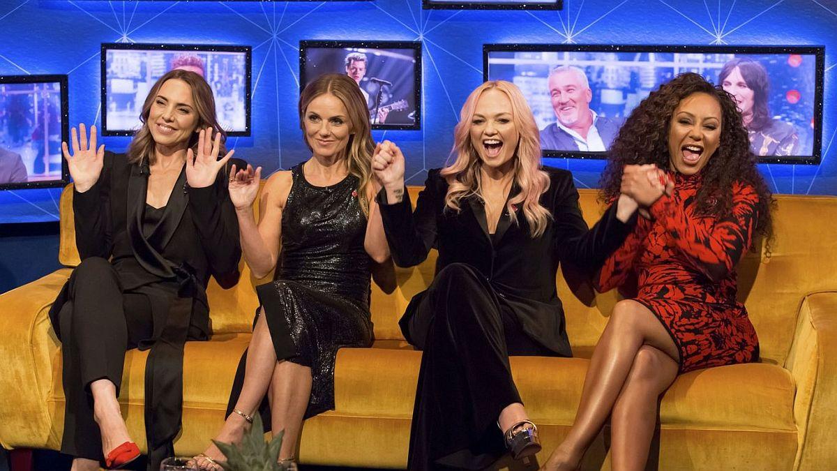 VIDEO! Spice Girls mängis maailma parima tennisistiga