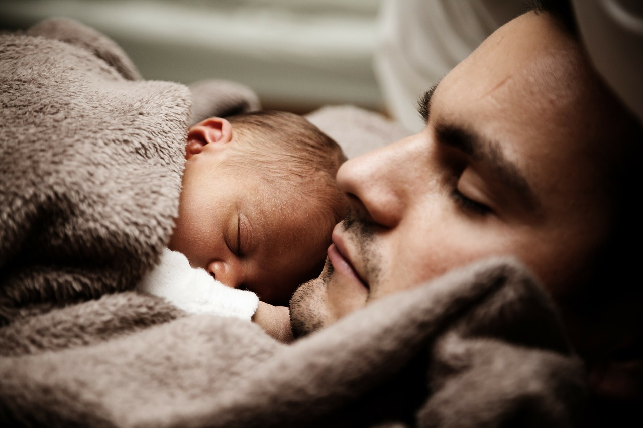 isa ja poeg.Pixabay