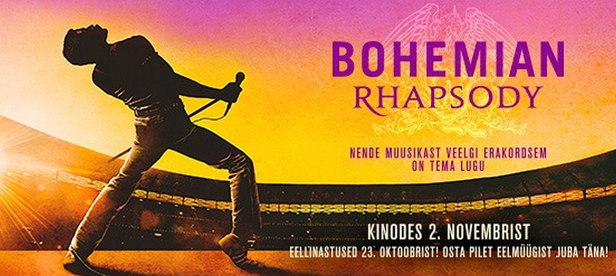 "Forum Cinemase aasta popim film oli ""Bohemian Rhapsody"""