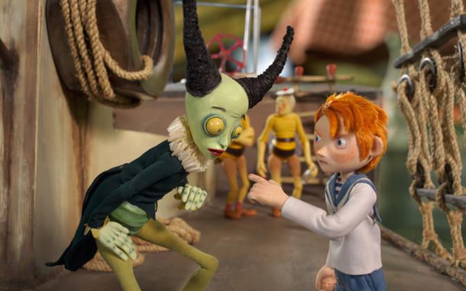 "Pere ja Kodu filmihommikul näeb animafilmi ""Kapten Morten lollide laeval"""