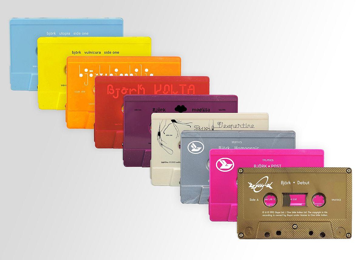 Ilu-uudis: Björk annab kassetid uuesti välja