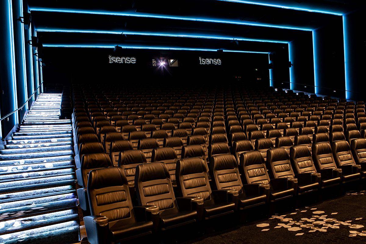 Coca-Cola Plazas avati kinosaal iSense