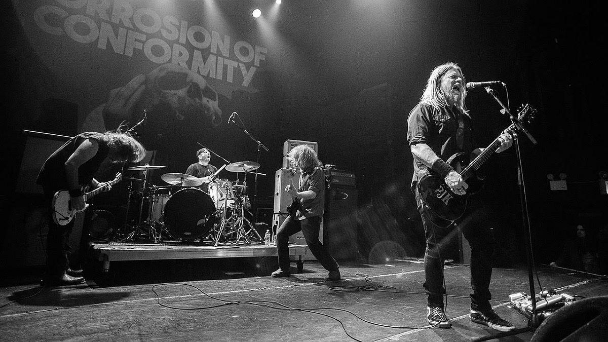 Corrosion of Conformity esineb juulis Tallinnas