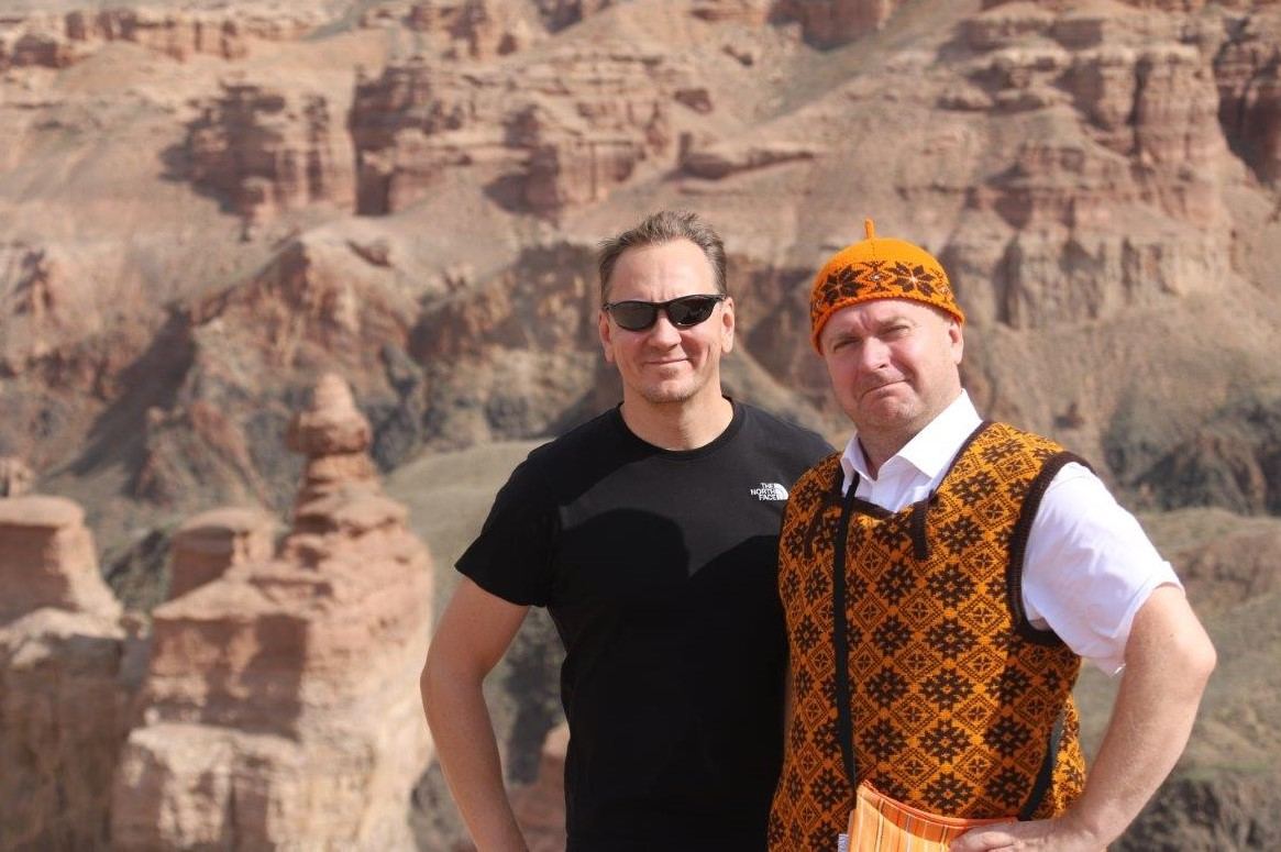 Teet ja Kristjan Sharõni kanjonis