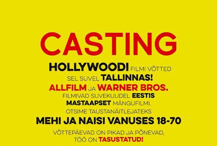 Allfilm otsib Warneri filmi näitlejaid