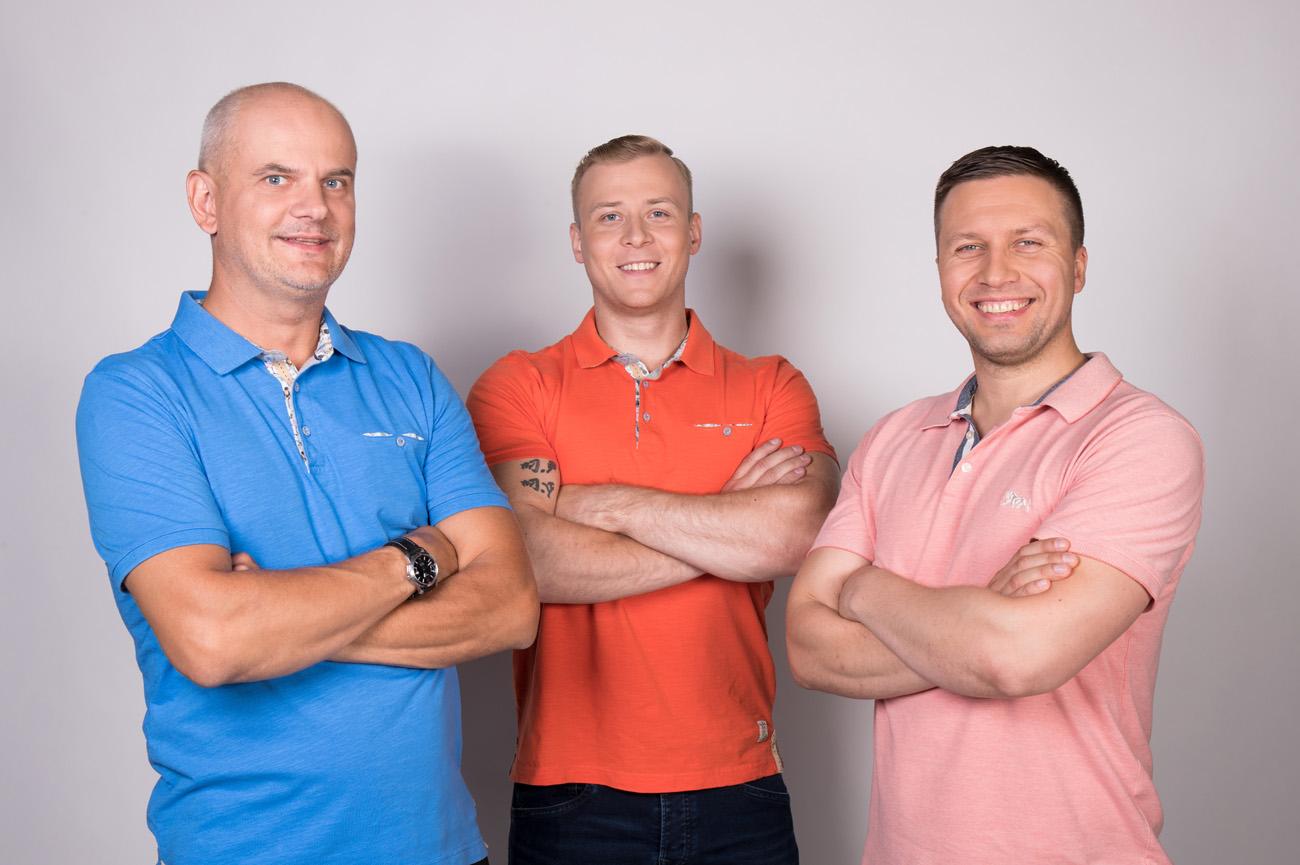 Suvereporter_Olaf Suuder, Jürgen Fogel ja Jaanus Koort_Fotograaf Liis Treimann_(4)