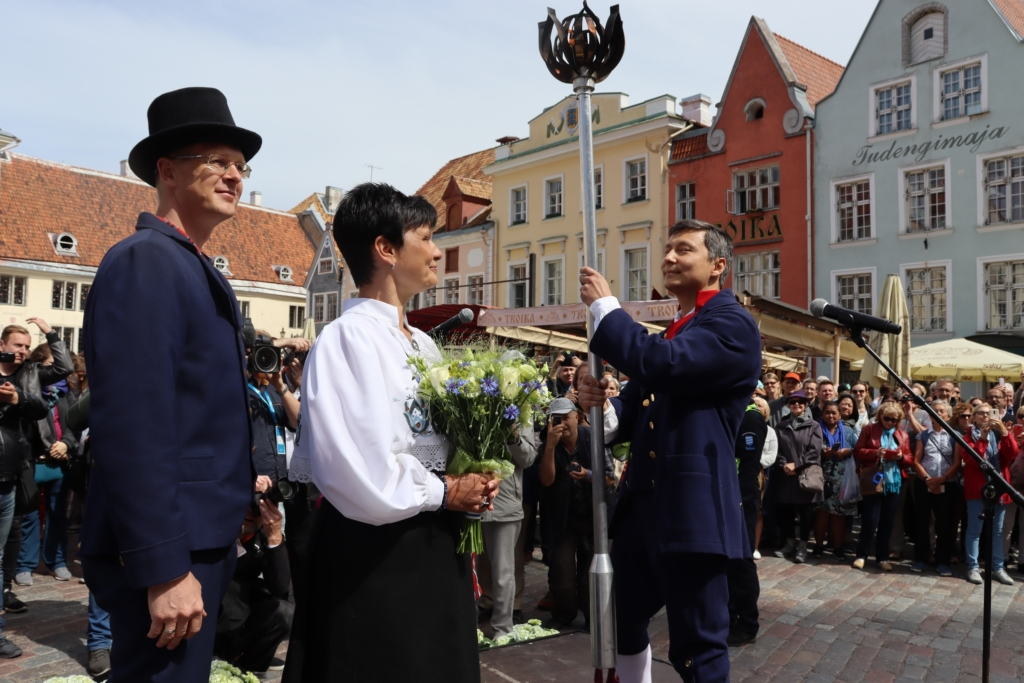 Juubelipeotuli jõudis Tallinnasse