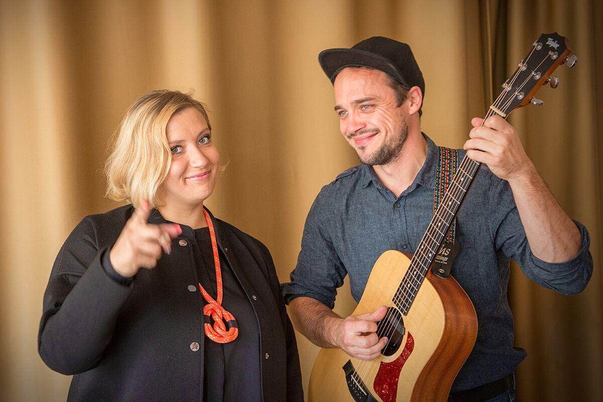 Sofia Rubina ja Andre Maaker