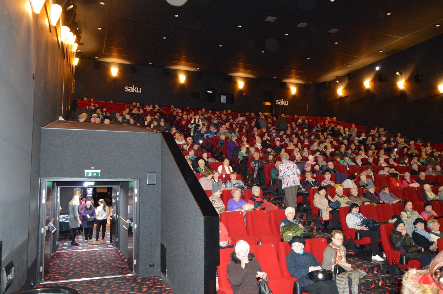 Eakate filmiklubi tõi kohale rekordarvu kinosõpru