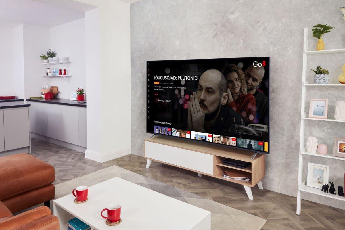 OLE TEADLIK I LG teleriomanikud saavad ligipääsu Go3 meelelahutusplatvormile