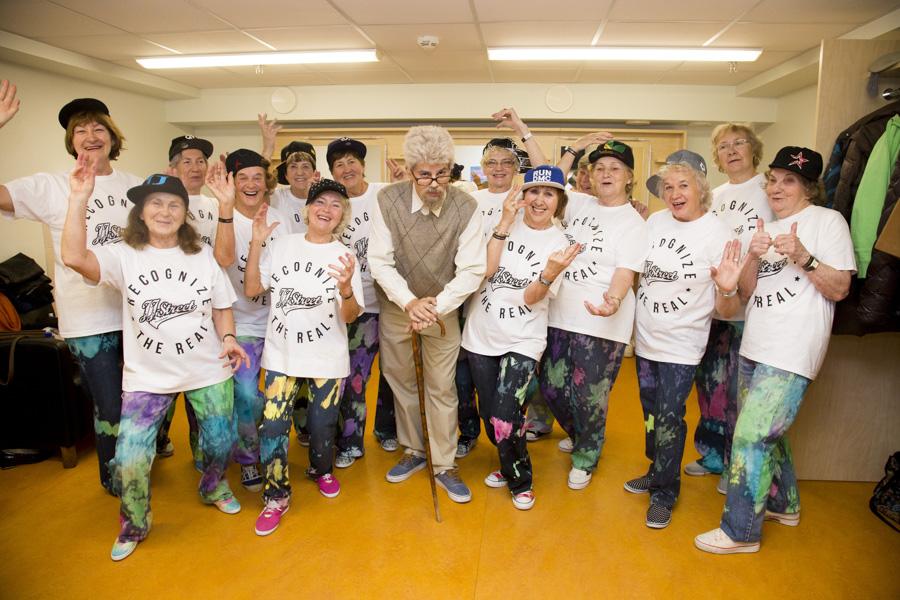 VIDEO I Kas teadsid, et Joel Juht on 70aastased vanaemad hiphoppi tantsima pannud?