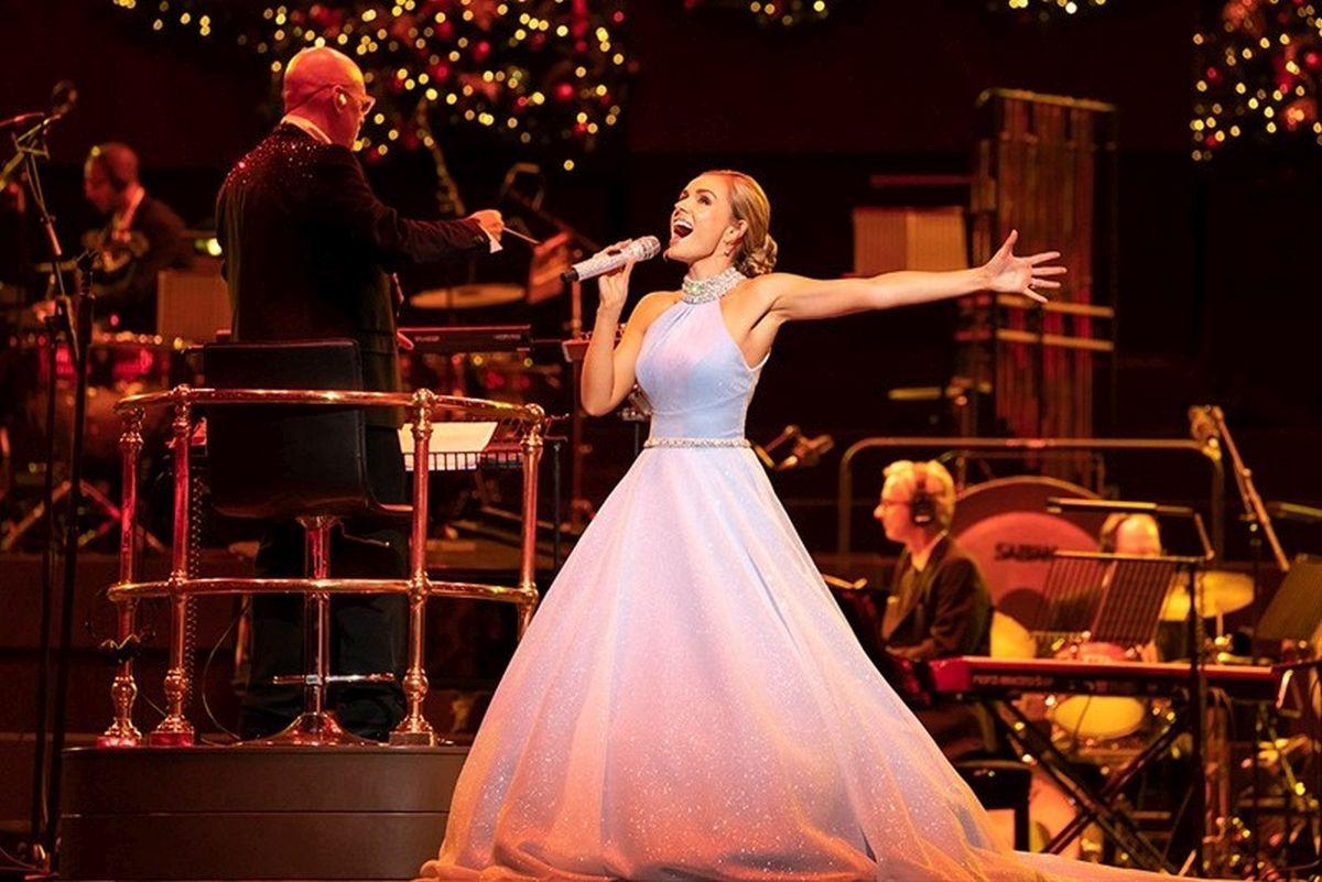 JUBA TÄNA! Katherine Jenkins: Christmas Spectacular jõulukontsert täna Coca-Cola Plazas