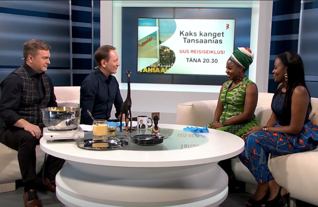 VIDEO I Puusad tööle! Jõekalda ja Margna õpivad kuumade rütmide saatel Aafrika tantsu