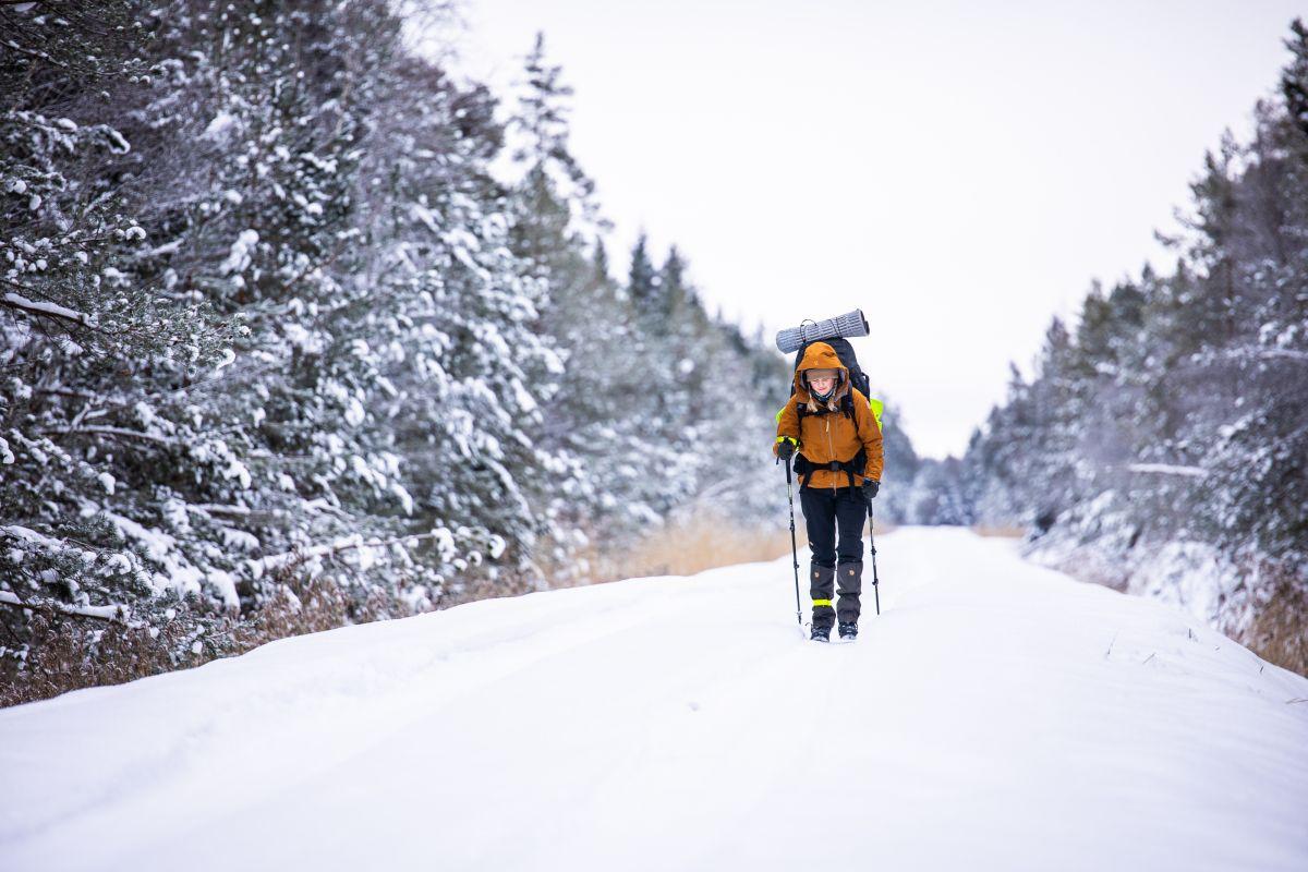 """KAUNIS KODUMAA I Heleri Hanko läbib telesaate """"Rabaradapidi"""" talvehooajal 614 ekstreemset kilomeetrit"""