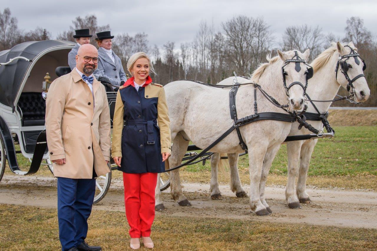 Liis Lusmägi ja Mihkel Raud-TV3
