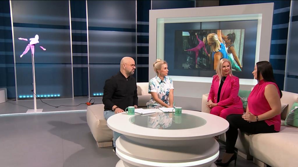 VIDEO I Kalorid põlema! Silja Kõiv ja Kristi Roosimägi leiutasid personaalse ning motiveeriva hologramm-treeneri