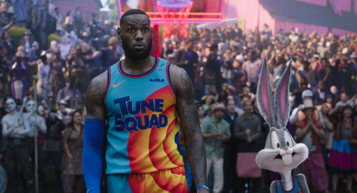 Space Jam – LeBron James
